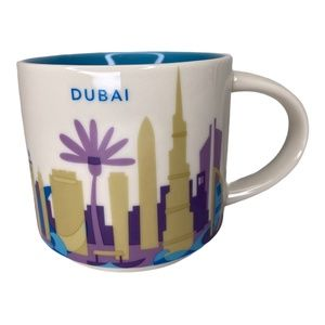 Dubai Starbucks You Are Here Coffee Mug 14 Oz.
